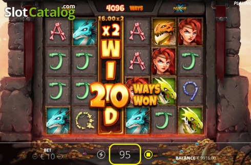 Win Screen 3. Dragon Tribe (Video Slots from Nolimit City)