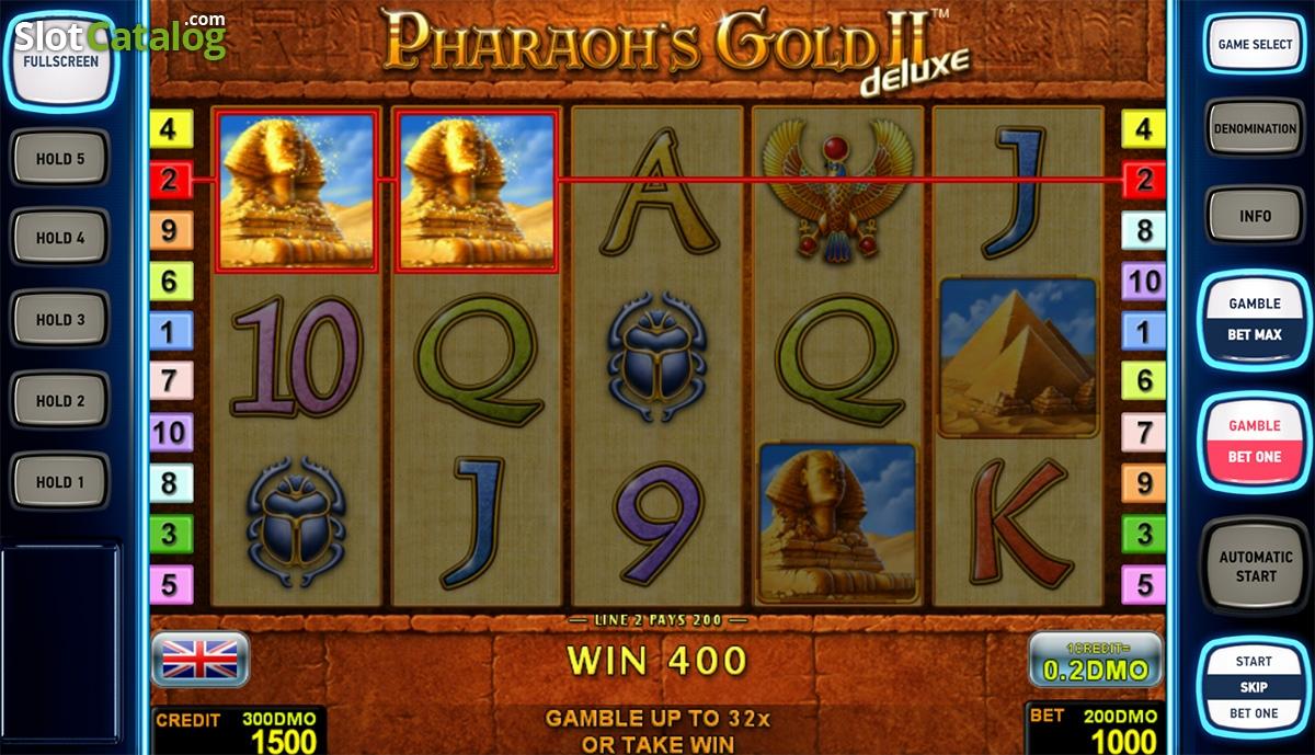 Pharaohs Gold 5