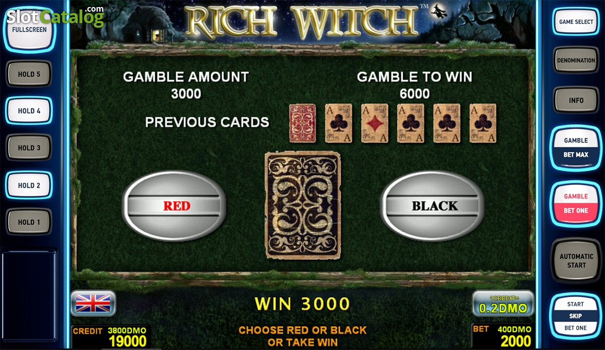 rich witch free slot game