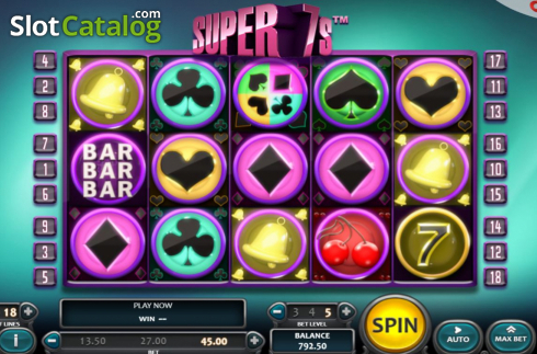 Spiele Super 7s (Nucleus Gaming) - Video Slots Online