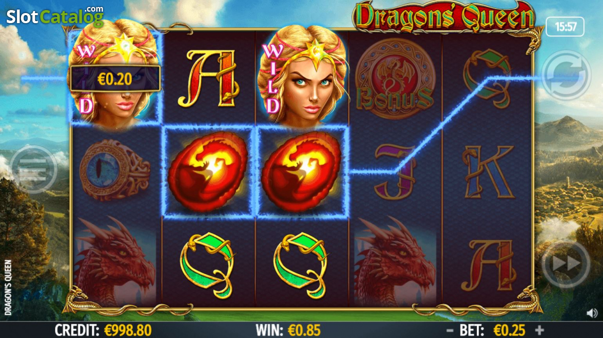 Dragons Queen Slot ᐈ Claim a bonus or play for free!