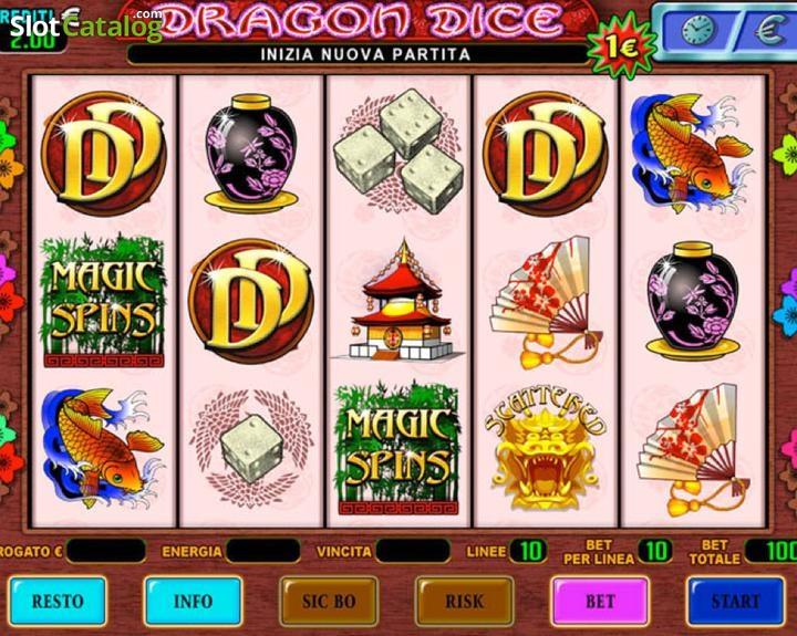 Dragon dice slot machine casino security camera slang name