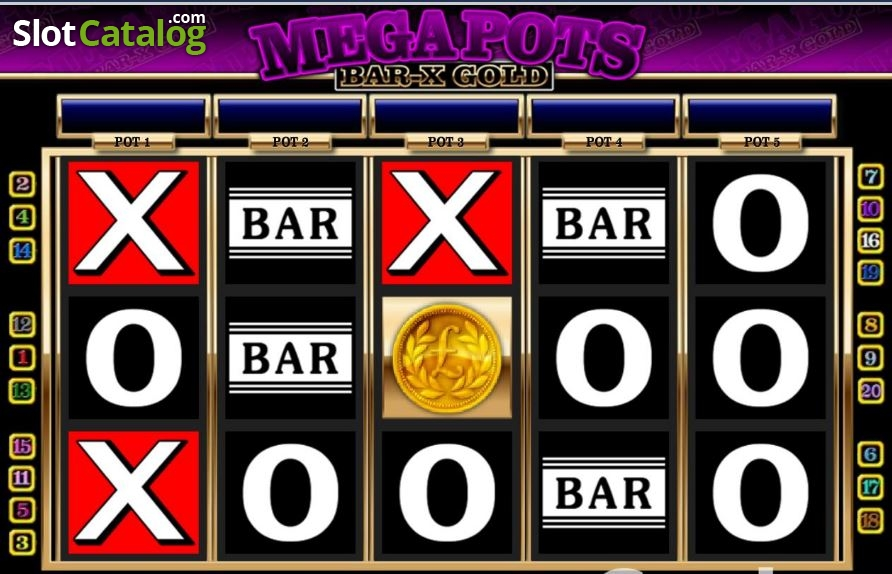 Mega Pots Mega-X Slot - Free to Play Online Casino Game