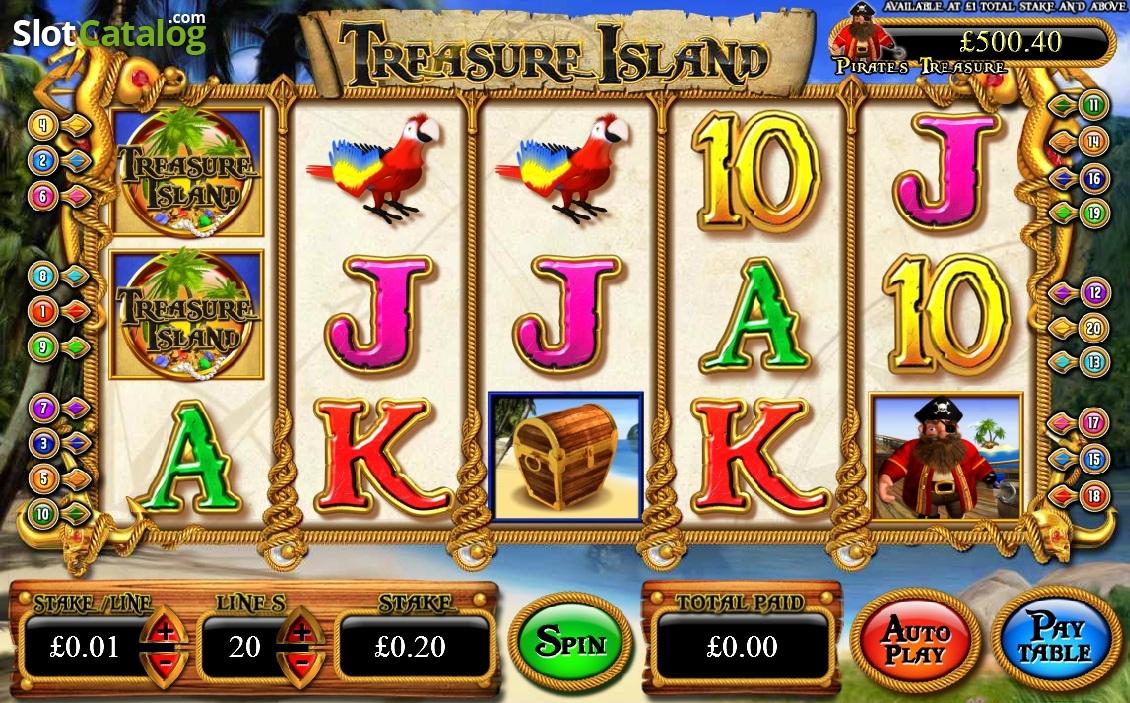 Treasure Island Slots