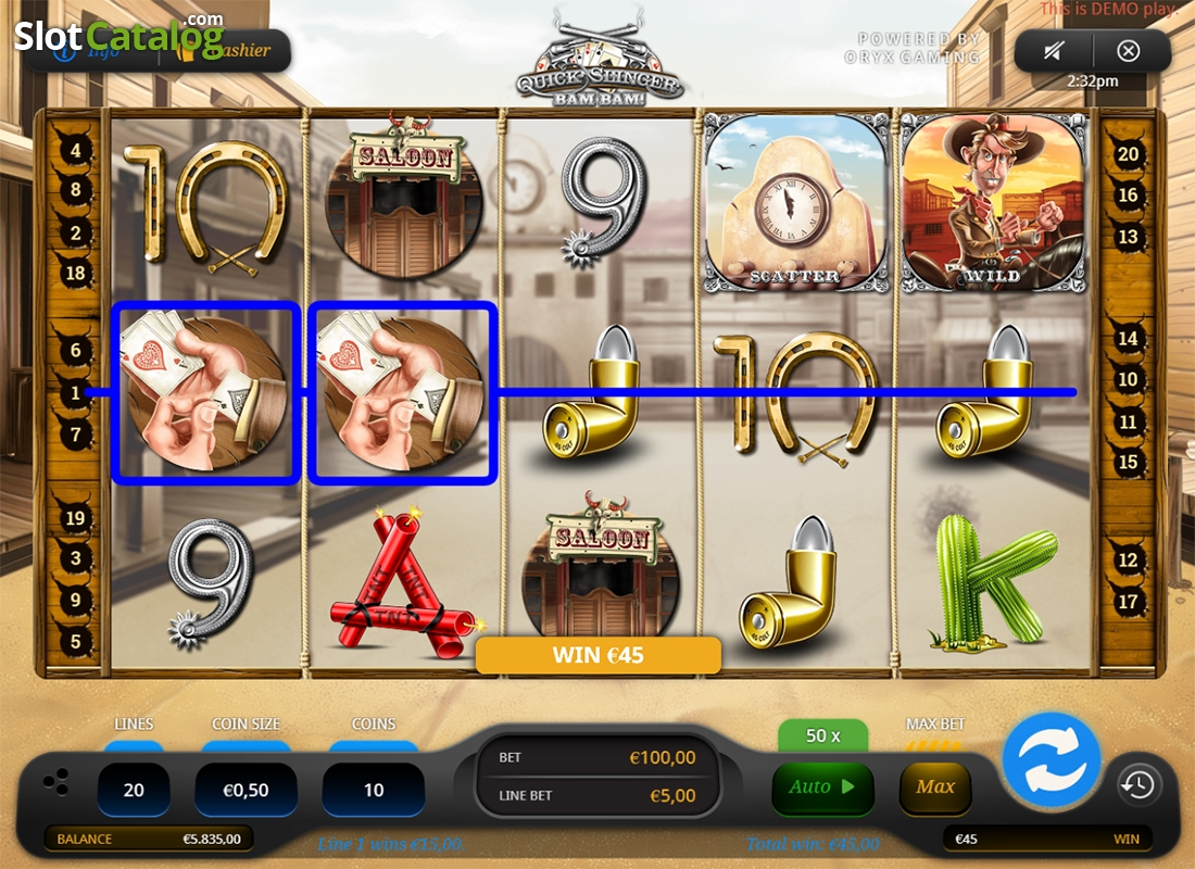 Spiele Quick Slinger Bam Bam! - Video Slots Online