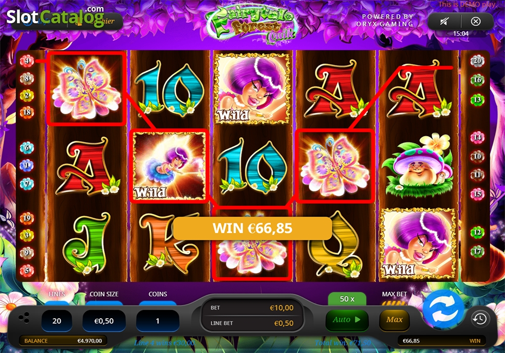 Spiele Fairytale Forest Quik - Video Slots Online