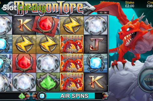 Air Spins. Dragon Lore (Video Slot from Bulletproof Games)