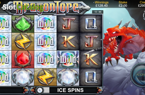 Ice Spins. Dragon Lore (Video Slot from Bulletproof Games)