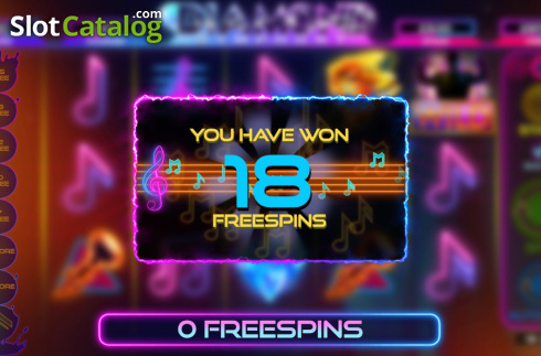 Free Spins. Diamond Symphony (Video Slots from Bulletproof Games)