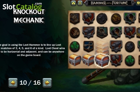 Mechanic 2. Hammer of Fortune (Video Slot from Green Jade Games)