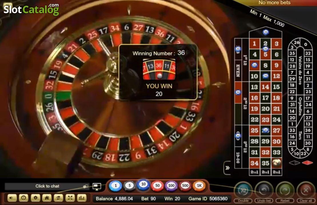 Рулетка в інтернет казино