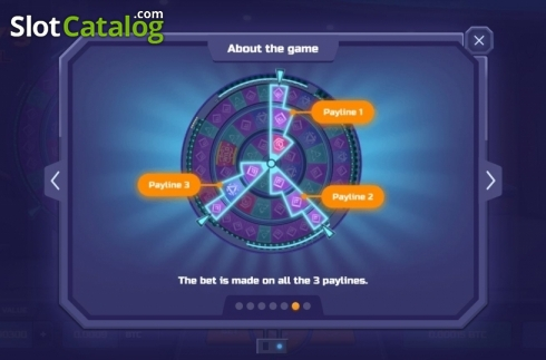 Paylines. Tony's Reel (Video Slot from TrueLab Games)