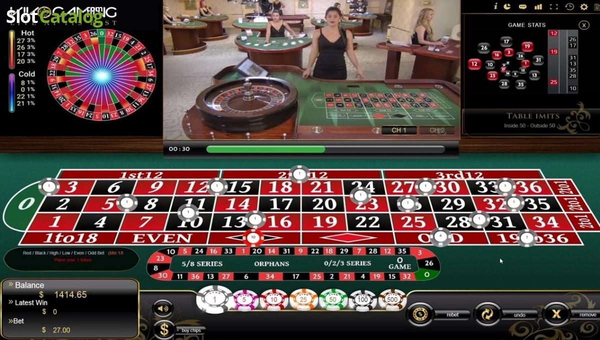 Live Roulette Ru