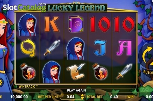 Reel Screen. Lucky Legend (Video Slot from Aspect Gaming)