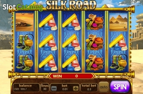 Reel Screen. Silk Road (Aiwin Gaming) (Video Slots from Aiwin Games)