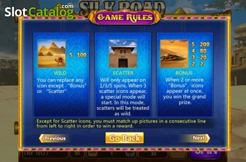Features. Silk Road (Aiwin Gaming) (Video Slots from Aiwin Games)