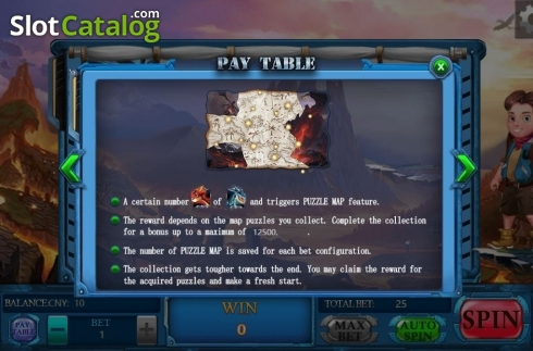 Features. Adventure (Video Slots from Aiwin Games)