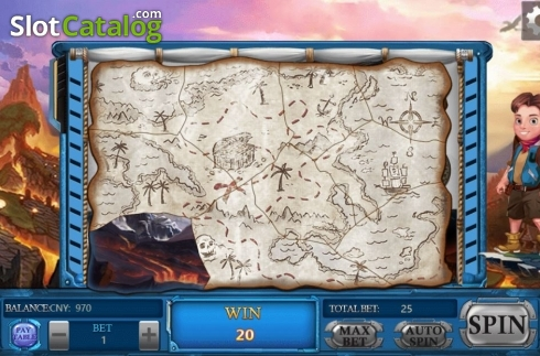 Feature Map. Adventure (Video Slots from Aiwin Games)