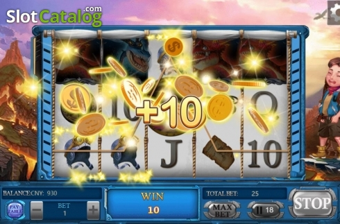 Win Screen. Adventure (Video Slots from Aiwin Games)