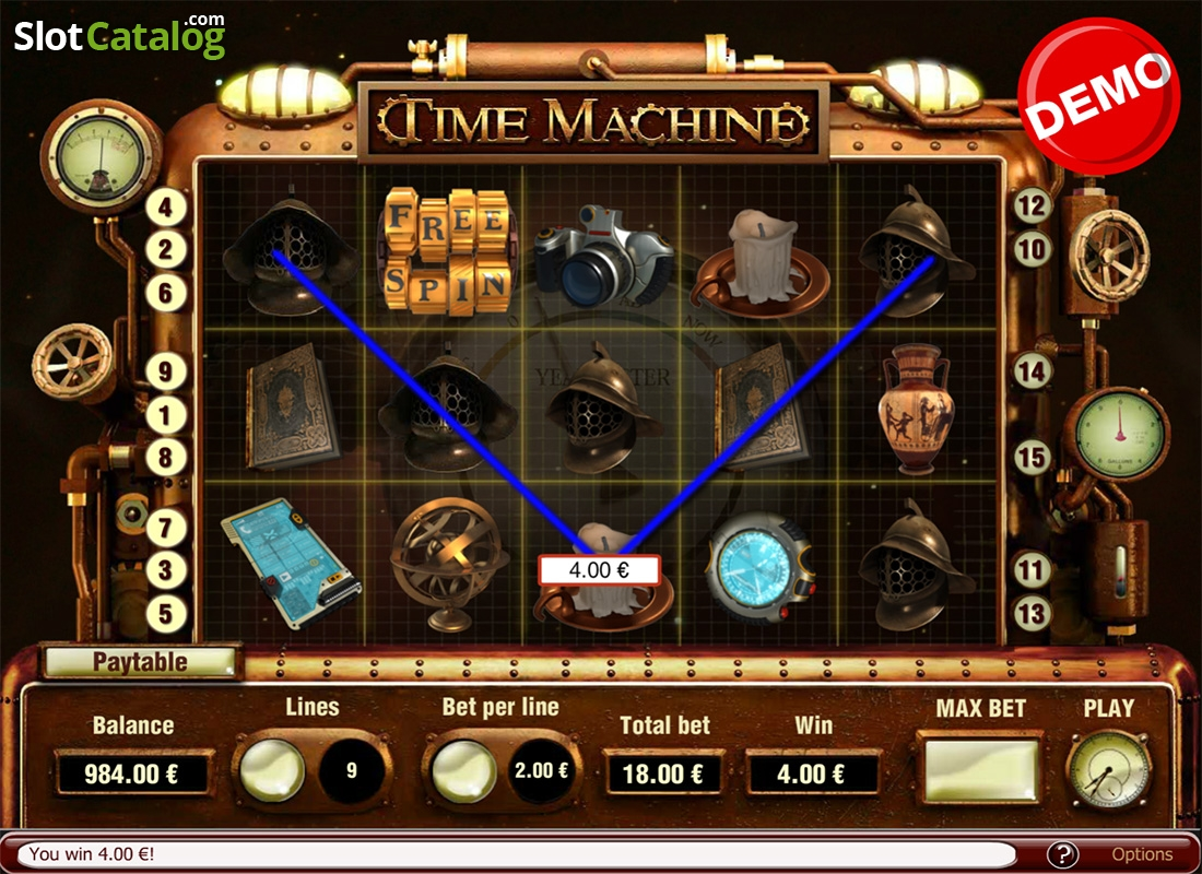 Time Machine Slots