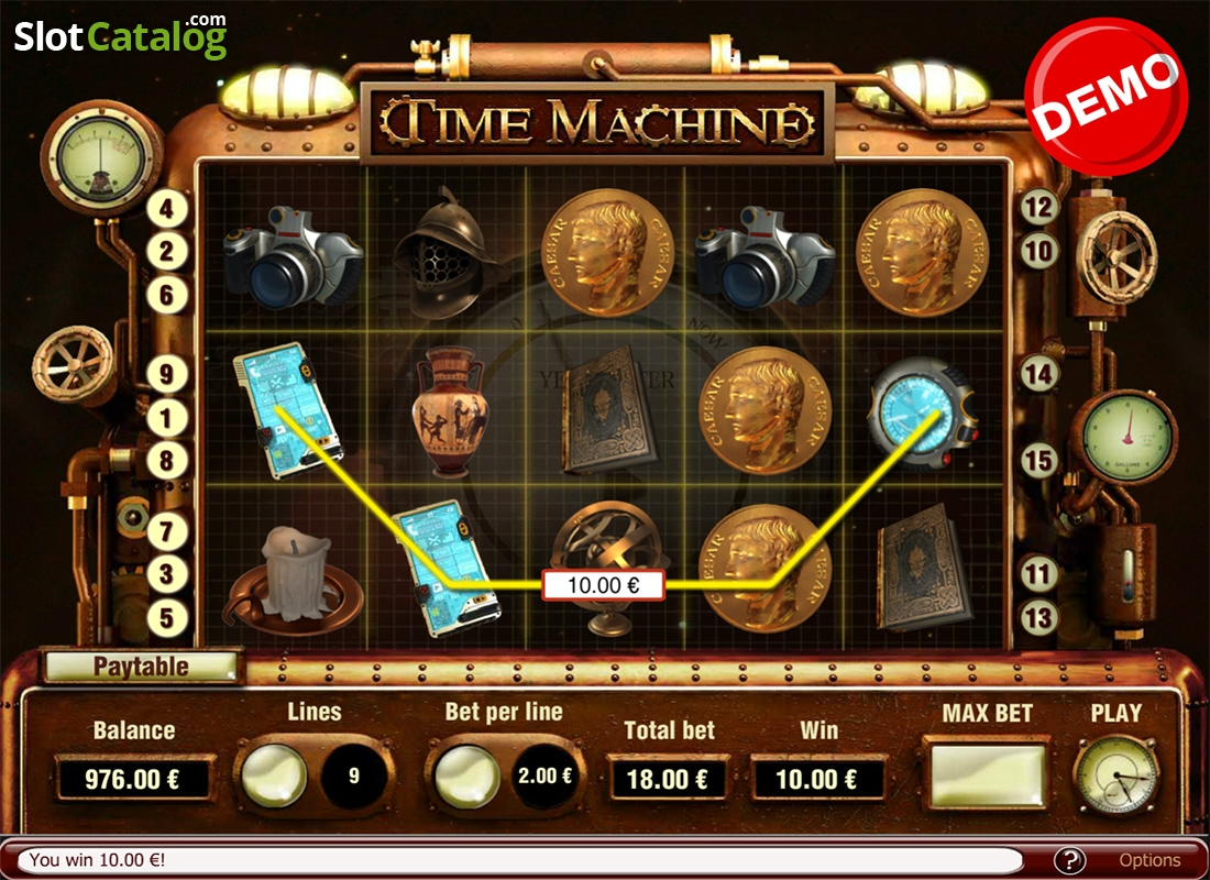 Time Machine Slots
