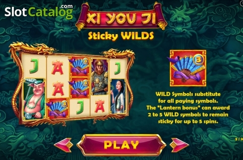 Paytable 3. Xi You Ji (Video Slot from Pariplay)