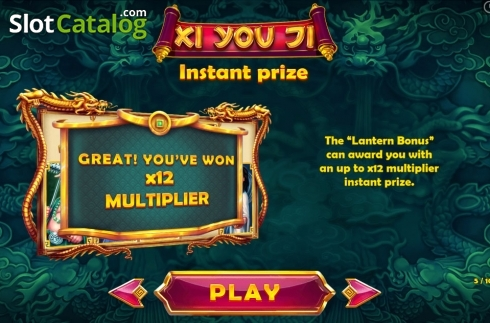 Paytable 5. Xi You Ji (Video Slot from Pariplay)