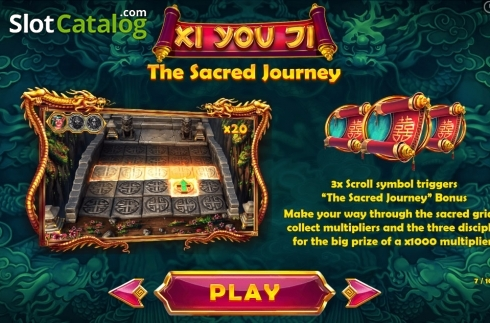 Paytable 7. Xi You Ji (Video Slot from Pariplay)
