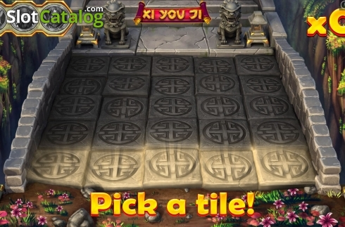 Bonus game Pick a tile! Screen 1. Xi You Ji (Video Slot from Pariplay)