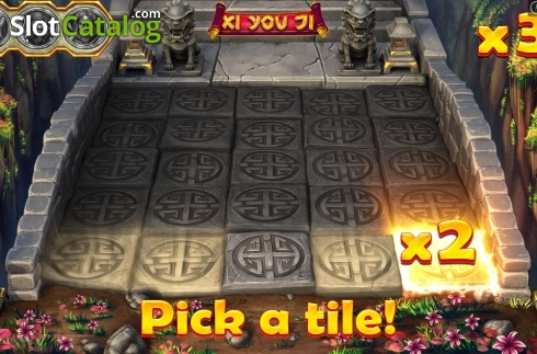 Bonus game Pick a tile! Screen 2. Xi You Ji (Video Slot from Pariplay)
