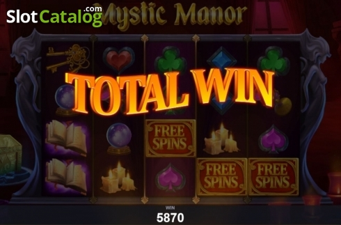 Képernyő9. Mystic Manor (Video Slot tól től Pariplay)