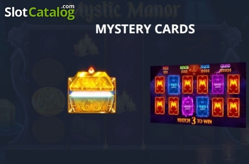 Képernyő13. Mystic Manor (Video Slot tól től Pariplay)