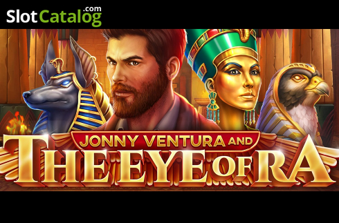 Jonny Ventura and The Eye of Ra (ビデオスロット から Pariplay)