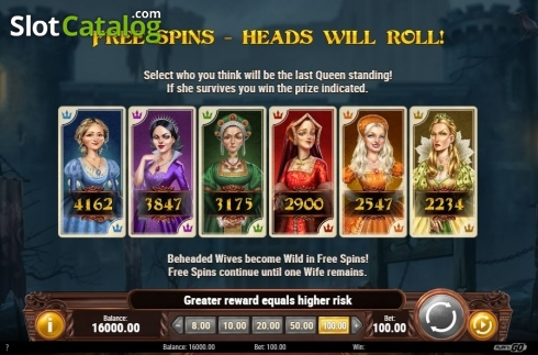 Choose a Queen. Battle Royal (Play'n Go) (Video Slot from Play'n Go)