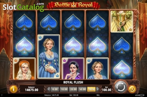Royal Flush. Battle Royal (Play'n Go) (Video Slot from Play'n Go)