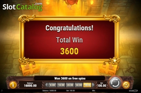 Bonus Games Win. Battle Royal (Play'n Go) (Video Slot from Play'n Go)