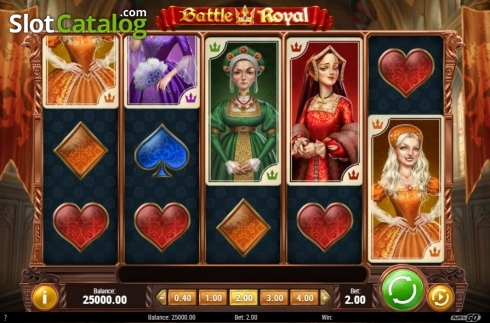 Reel Screen. Battle Royal (Play'n Go) (Video Slot from Play'n Go)