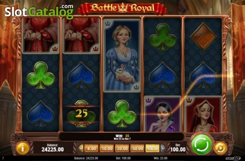 Win Screen. Battle Royal (Play'n Go) (Video Slot from Play'n Go)