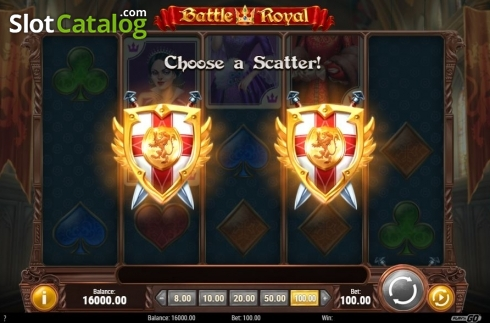 Choose a Scatter. Battle Royal (Play'n Go) (Video Slot from Play'n Go)