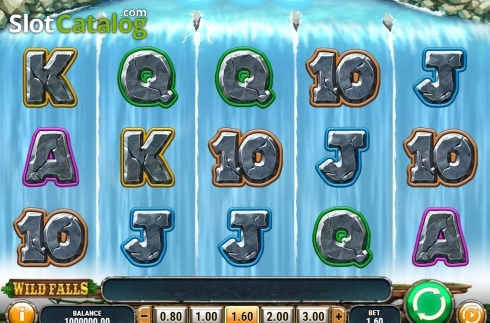 Reel Screen. Wild Falls (Video Slot from Play'n Go)
