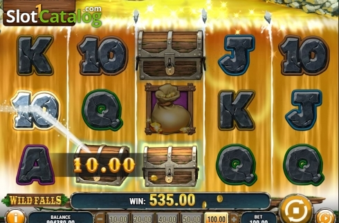 Free Spins. Wild Falls (Video Slot from Play'n Go)