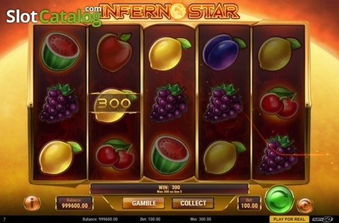 skærm4. Inferno Star (Video Slot fra Play'n Go)