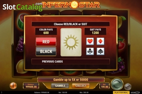 skærm5. Inferno Star (Video Slot fra Play'n Go)