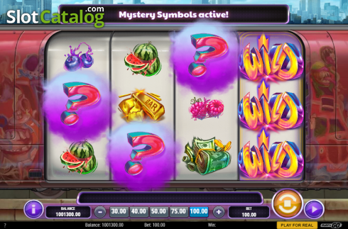 Mystery Symbols. Cash Vandal (Video Slot from Play'n Go)