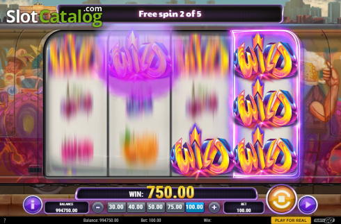 Free Spins Reels. Cash Vandal (Video Slot from Play'n Go)