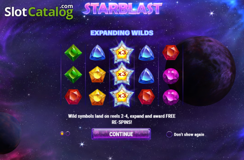Intro 1. Starblast (Video Slot from Play'n Go)