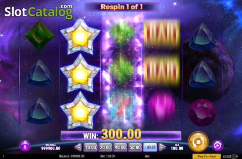 Re-spin. Starblast (Video Slot from Play'n Go)