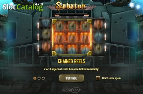 Intro 1. Sabaton (Video Slot from Play'n Go)