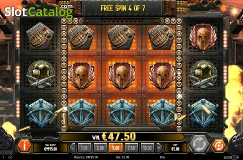 Free Spin Reels. Sabaton (Video Slot from Play'n Go)