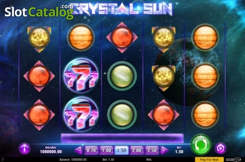 Skärm4. Crystal Sun (Video Slot från Play'n Go)